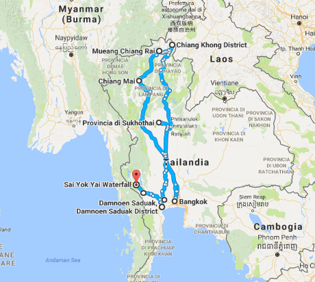 THAILANDIA EXPLORER AMO IL MONDO
